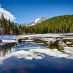 Bear Lake at the Rocky Mountain National Park — Stock Photo #47731715