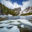 Dream Lake at the Rocky Mountain National Park — Stock Photo