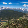 Panoramic view of Rocky mountains, Colorado, USA — Stock Photo #48845721