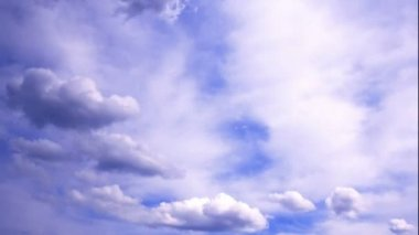 Bulutlar hareket timelapse — Stok video