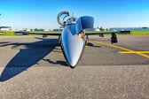 Airplane Aero L-39 Albatros from Breitling Jet Team — Stock Photo