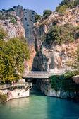 Canyon Saklikent entrance — Stock Photo