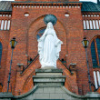 Church of the Immaculate Conception of Virgin Mary — Stock Photo
