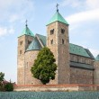Collegiate church in Tum — Stock Photo