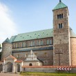 Stock Photo: Collegiate church in Tum