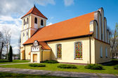 Church of Saint Andrew Bobola in Rydzewo — Stock Photo
