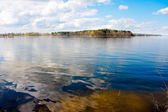 Lake and blue sky - Masuria — Stock Photo