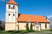Kościół saint andrew bobola w rydzewie — Zdjęcie stockowe