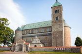 Collegiate church in Tum — Stock Photo