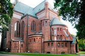 Iglesia de la inmaculada concepción en pruszkow — Foto de Stock