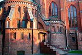 Church of the Immaculate Conception in Pruszkow — Stock Photo