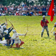 Battle of Grunwaldfestival - Medieval Archers — Stock Photo