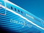 Boeing Dreamliner fuselage — Stock Photo