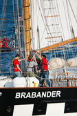 Brabander sailing vessel — Stock Photo