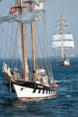 Sailing vessel Brabander — Stock Photo