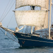 Stock Photo: Sailing vessel Thalassa