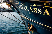 Vessel Thalassa — Stock Photo