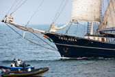 Thalassa at open sea — Stock Photo