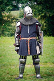 Armored Knight — Foto de Stock