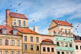 Old Town architecture of Warsaw City — Stock Photo