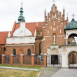 Stock Photo: RADOM CITY, POLAND Bernadine church and monastery