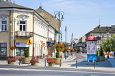 RADOM CITY, POLAND One of the main squares of Radom — Stock Photo