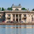Palace on the Water in Lazienki, Warsaw — Stock Photo
