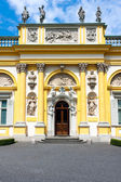 Wilanow Palace in Warsaw, northern entrance — Stock Photo