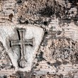 Christian cross grunge background — Stock Photo #42919453