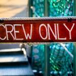 Crew Only ! — Stock Photo #42988377