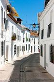White houses, Mijas streets — Foto Stock