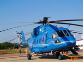 Mi 38 helicopter, Russian  military and cargo — Stock Photo
