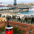 Barcelona, Port Cable Car — Stock Photo