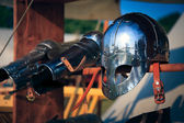 Knights Helmet — Stock Photo