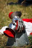 Knight gloves — Stock Photo