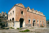 Ruins of Greek Orthodox Church in Kayakoy, Turkey — Stock Photo
