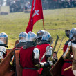 Armored Medieval Knights — Stock Photo #45230953