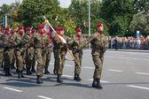 Airborne Brigade during the parade — Stock Photo