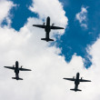 C-295 M CASA planes over the sky — Stock Photo #51541155