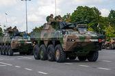 Infantry fighting vehicle ROSOMAK — Stock Photo