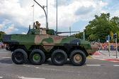 ROSOMAK Military Armored Vehicle — Stock Photo