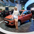Stock Photo: MOSCOW-SEPTEMBER 8: Moscow International Motor Show on September 8,2012