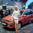 MOSCOW-SEPTEMBER 8: the Moscow International Motor Show on September 8,2012 — Stock Photo