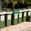 Containers for separate waste collection — Stock Photo