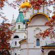 Moscow Kremlin cathedrals in autumn — Stock Photo