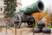 Tsar Cannon in Moscow Kremlin — Stock Photo