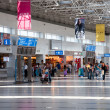 Stock Photo: Departure lounge at airport in Antalya, Turkey