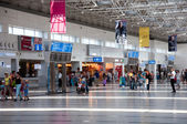 Departure lounge at the airport in Antalya, Turkey — Stock Photo