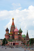 St. Basil's Cathedral in Moscow, Russia — Stock Photo