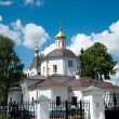 Christian temple, landmark in Moscow, Russia — Stock Photo